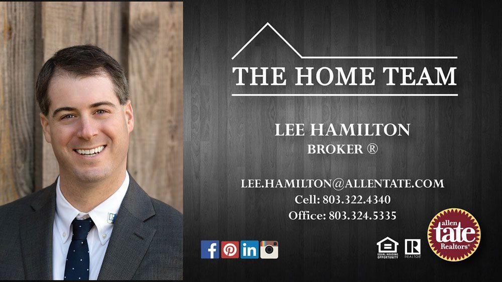 Lee Hamilton Realty Business Card